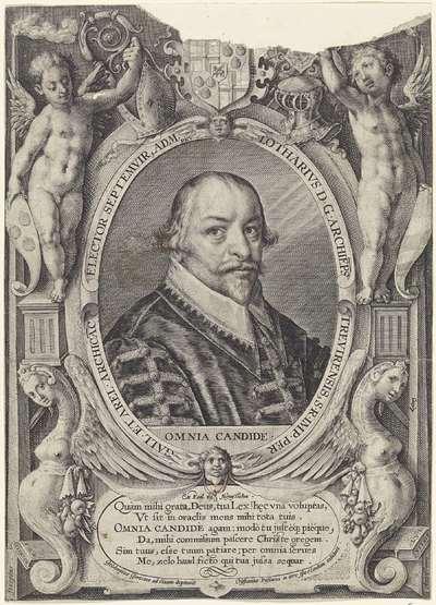 Portret van Lothar van Metternich