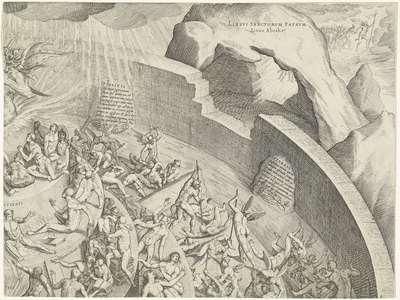Hel en vagevuur (deel rechtsboven)