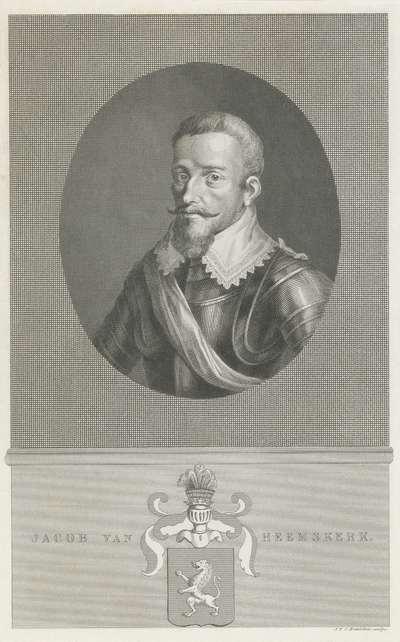 Portret van Jacob van Heemskerk
