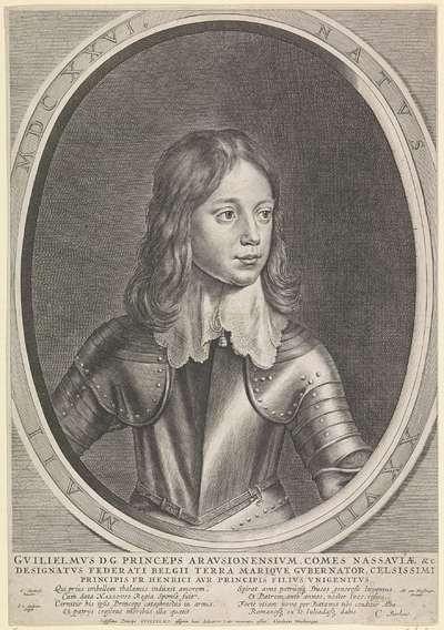 Portret van Willem II, prins van Oranje