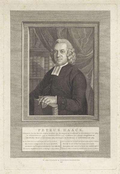 Portret van Petrus Haack