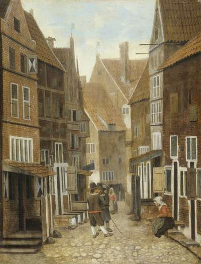 Image from object titled View of a Town
