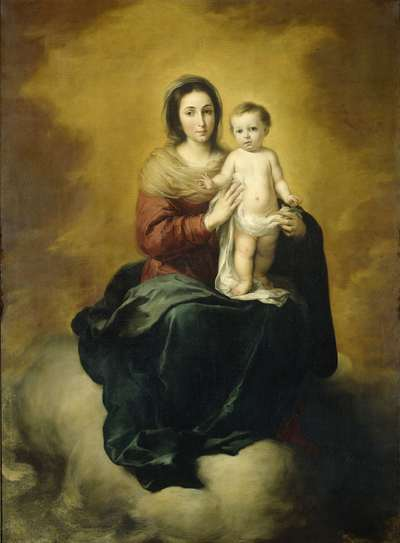 Virgin and Child | Murillo, Bartolomé Esteban