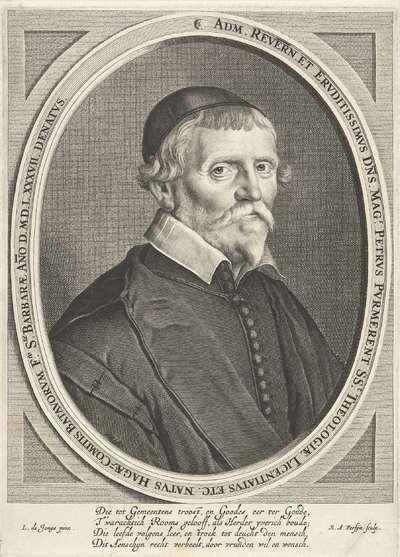 Portret van Petrus Purmerent