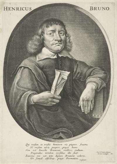 Portret van Henricus Bruno