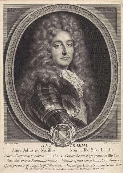 Portret van Anne Jules de Noailles