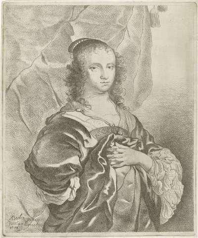 Portret van Geertruida Hasselaer