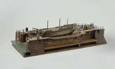 Model of the Dry Dock at Flushing