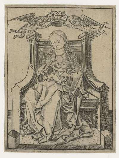 Maria met Christus en een appel