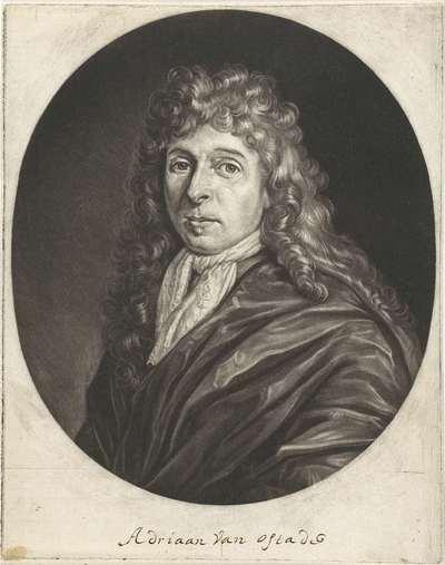 Portret van Adriaen van Ostade