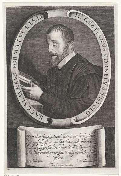 Portret van Cornelis Danckaert