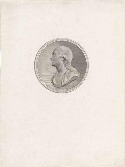 Portret van Jan Hendrik van Kinsbergen