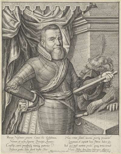 Portret van Willem Lodewijk, graaf van Nassau-Dillenburg