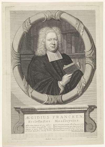 Portret van Aegidius Francken