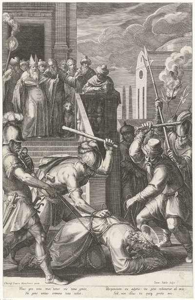 Vastbinden van Christus; Passie van Christus; Pręcipua Passionis D.N. Jesu Christi mysteria