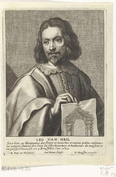 Portret van Leo van Heil