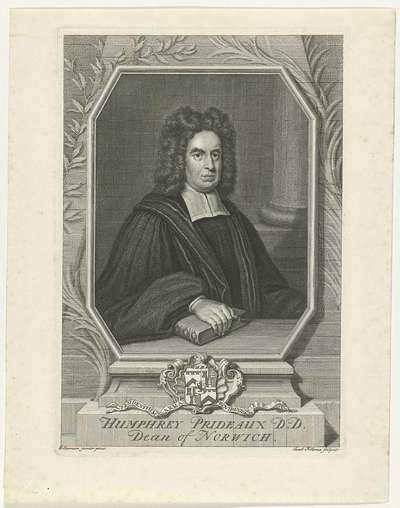 Portret van Humphrey Prideaux