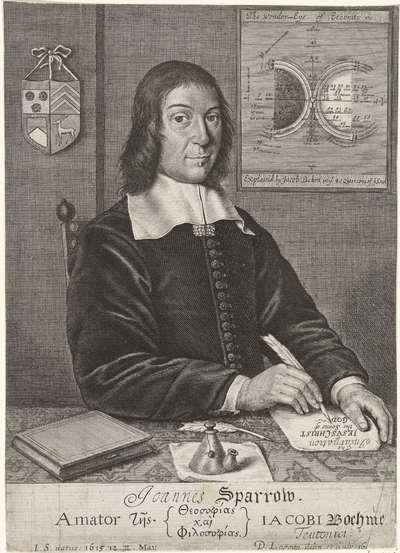 Portret van John Sparrow