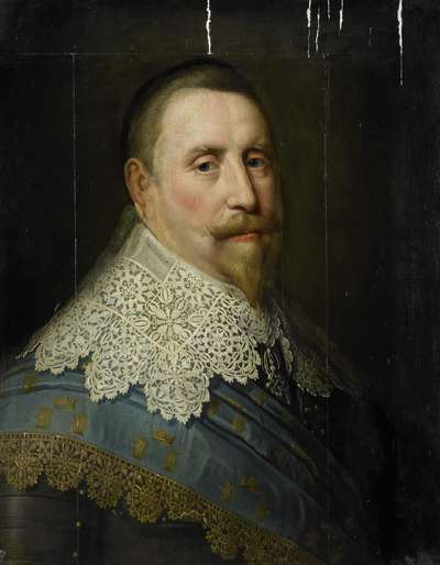 Image from object titled Portrait of Gustav II Adolf, King of Sweden