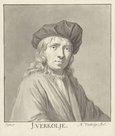 Portret van J. Verkolje