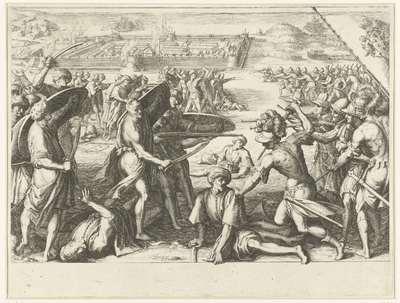 Aanval van de troepen van Ferdinando I de' Medici op de forten bij de Noord-Afrikaanse stad Bone (Annaba); Leven van Ferdinando I de' Medici