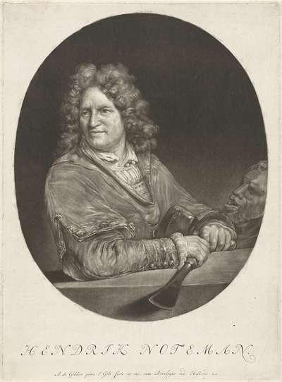 Portret van Hendrik Noteman