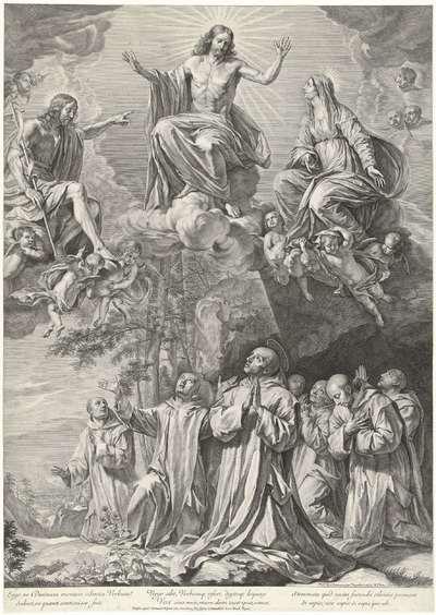 H. Bruno bidt in de woestenij van La Grande Chartreuse