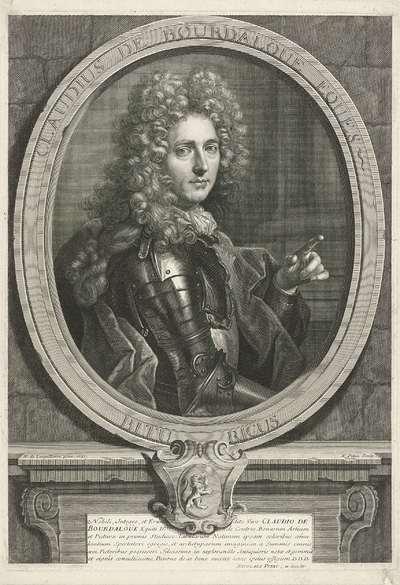 Portret van Claude de Bourdaloue