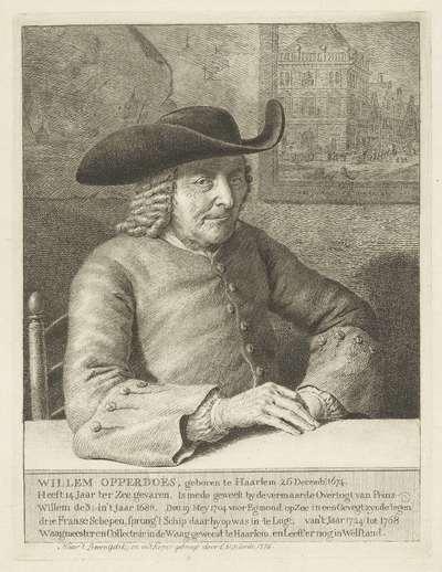 Portret van Willem Opperdoes