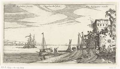 Image from object titled Herberg aan de haven; Havengezichten