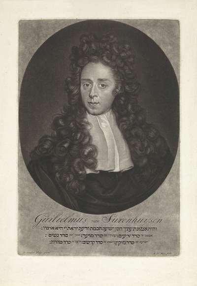 Portret van Willem Surenhuys