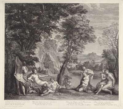 Diana en Callisto