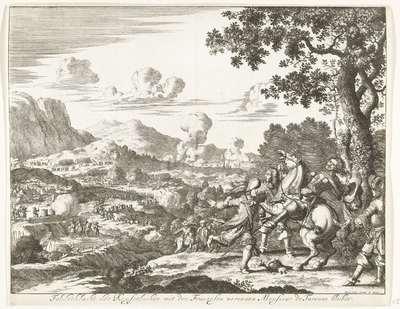 Slag bij Sasbach, 1674; Feldschlacht der Keyserlichen mit den Franzosen worinnen Monsieur de Turenne bleibet