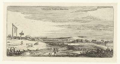 Landschap met galgenveld bij Haarlem; Landschappen (kopieën)