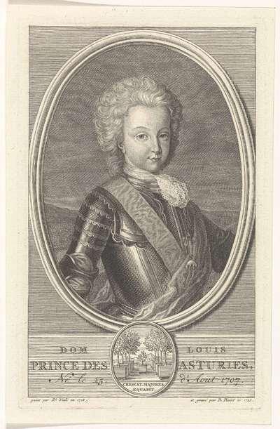Portret van Lodewijk I, prins van Asturië