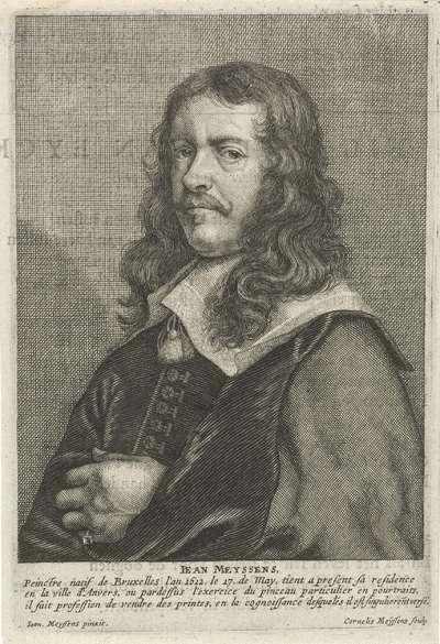 Portret van Joannes Meyssens