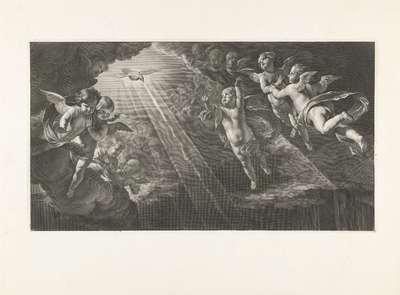 Engelen en Heilige Geest (Annunciatie)