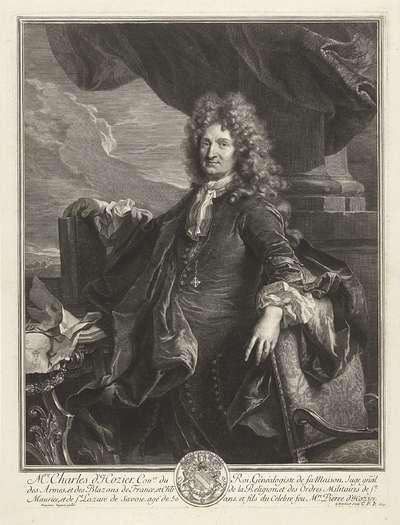 Portret van Charles d'Hozier