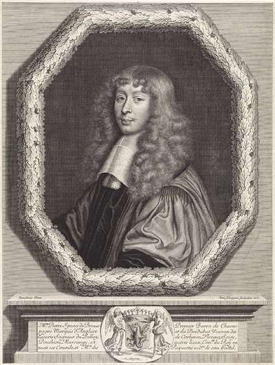 Portret van Pierre Ignace de Braux