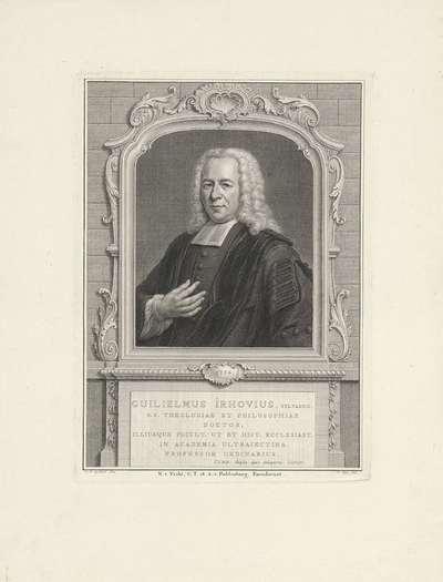Portret van Willem van Irhoven