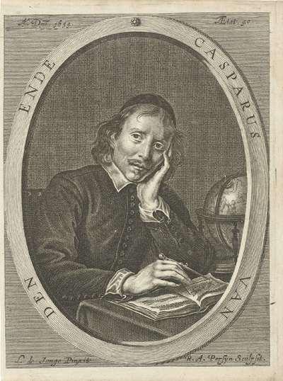 Portret van Caspar van den Ende