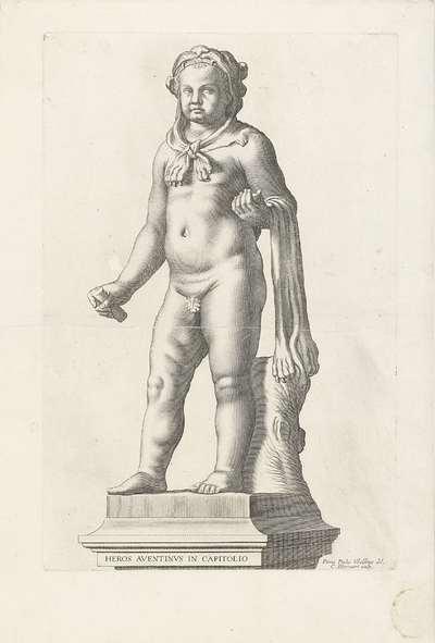 Hercules als jongetje; Heros Aventinvs in Capitolio