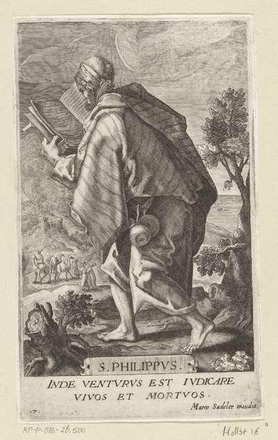 Apostel Filippus; S. Philippvs; Christus en twaalf apostelen