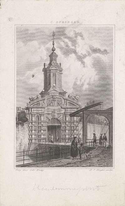 Haarlemmerpoort te Amsterdam