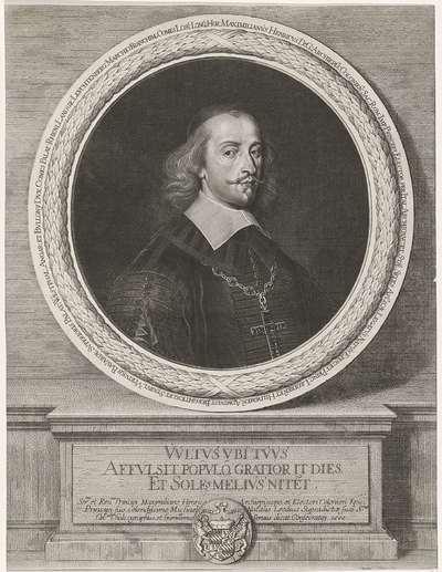 Portret van Maximiliaan Hendrik van Beieren