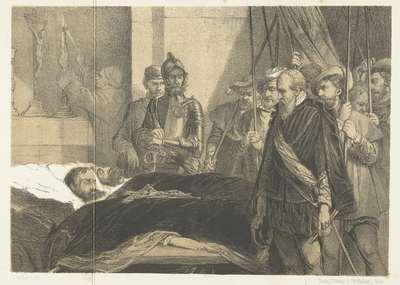 De laatste eer bewezen aan de lijken van Egmond en Horne, 1568; De laatste eer bewezen aan de lijken van de Graven van Egmond en Hoorne