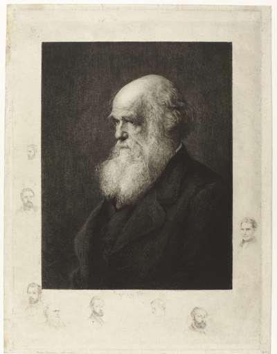 Portret Charles Robert Darwin