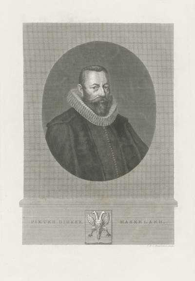 Portret van Pieter Dircksz Hasselaer