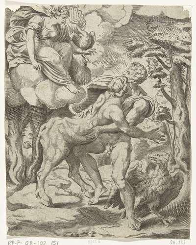 Jupiter, Io en Juno; Jupiters liefdesavonturen