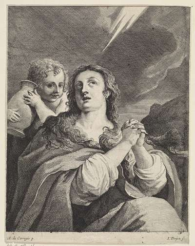 Image from object titled Maria Magdalena; Theatrum Pictorium